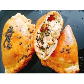Empanadas integrales de pollo