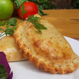 Empanada de choclo y jamón