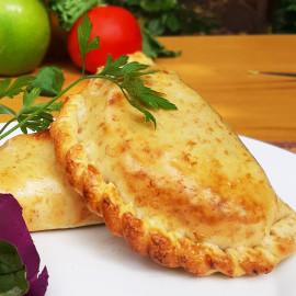 Empanada integral de jamón y queso
