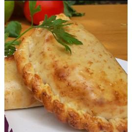 Empanada de pollo y puerro